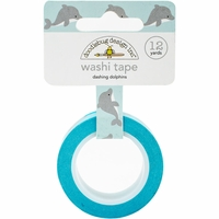 Doodlebug Washi Tape - Dashing Dolphins