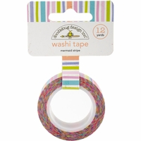 Doodlebug Washi Tape - Mermaid Stripe