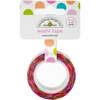 Doodlebug Washi Tape - Pretty Polka Dots