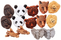Dress It Up Embellishments - Animal World - Click to enlarge
