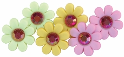 Dress It Up Embellishments - Blooming With Color - Click to enlarge