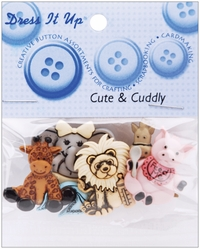 Dress It Up Embellishments - Cute & Cuddly - Click to enlarge