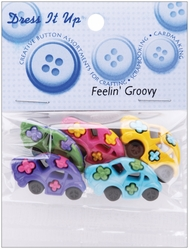 Dress It Up Embellishments - Feelin' Groovy - Click to enlarge