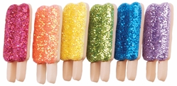 Dress It Up Embellishments - Glitter Popsicles - Click to enlarge