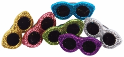 Dress It Up Embellishments - Glitter Sunglasses - Click to enlarge