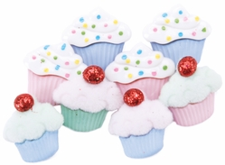 Dress It Up Embellishments - Mini Sweet Treats - Click to enlarge