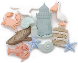Dress It Up Embellishments - Ocean View - Click to enlarge