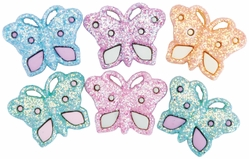 Dress It Up Embellishments - Pastel Butterflies - Click to enlarge