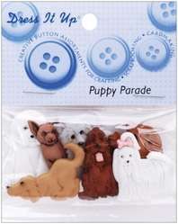 Dress It Up Embellishments - Puppy Parade - Click to enlarge