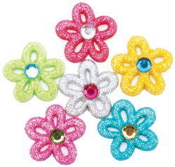 Dress It Up Embellishments - Razzle Dazzle Daisy - Click to enlarge