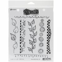 Dylusions by Dyan Reaveley Cling Stamps - Around The Edge