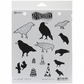 Dyan Reaveley Cling Stamps - Birds On A Wire