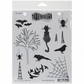 Dyan Reaveley Cling Stamps - Bits & Bats