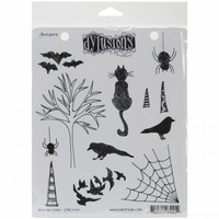 Dylusions by Dyan Reaveley Cling Stamps - Bits & Bats