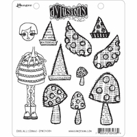 Dylusions by Dyan Reaveley Cling Stamps - Doolally Dorris