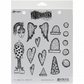 Dyan Reaveley Cling Stamps - Love Struck Lucy