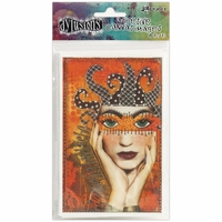 Dyan Reaveley's Dylusions Adhesive Canvas - Printed