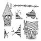 Dyan Reaveley Dylusions Cling Stamp Collection - This Old House