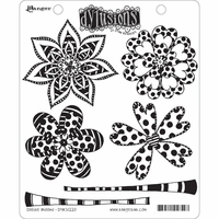 Dylusions by Dyan Reaveley Cling Stamp Collections - Doodle Blooms