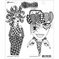 Dylusions by Dyan Reaveley Cling Stamp Collection - Endeavour