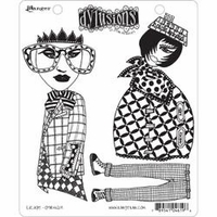Dylusions by Dyan Reaveley Cling Stamp Collection - Escape