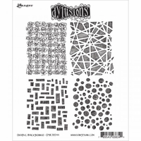 Dylusions by Dyan Reaveley Cling Stamp Collections - Graphic Backgrounds