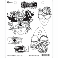 Dylusions by Dyan Reaveley Cling Stamp Collections - The Eyes Have It