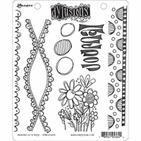 Dyan Reaveley's Dylusions Cling Stamps - Anatomy Of A Page