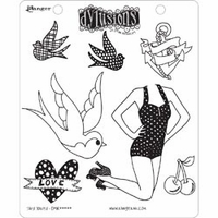 Dylusions by Dyan Reaveley Cling Stamps - Jay's Jollies
