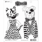 Dyan Reaveley's Dylusions Cling Stamps - Winston & Lulu