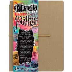 """Dylusions Creative Journal Large 11""""x8"""" - Click to enlarge"""