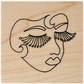 Dyan Reaveley's Dylusions Stamp - Fancy Face