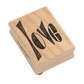 Dyan Reaveley's Dylusions Stamp - Love Word
