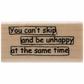 Dyan Reaveley Dylusions Stamp - Skip Quote