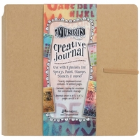 "Dyan Reaveley Dylusions Creative Square Journal 8""x8"" - Standard"