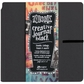 "Dylusions Dyan Reaveley's Creative Square Journal 8""x8"" - Black"