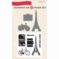 Echo Park Paper Die & Stamp Combo Sets