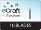 eCraft Replacement Blades 10/Pkg