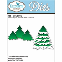 Elizabeth Craft Metal Die - 5 Part Pine
