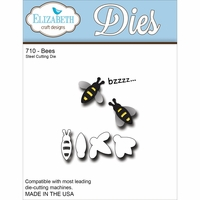Elizabeth Craft Metal Die - Bees