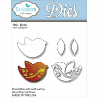 Elizabeth Craft Metal Die - Birds