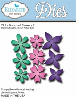 Elizabeth Craft Metal Die - Bunch Of Flowers 2