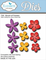 Elizabeth Craft Metal Die - Bunch Of Flowers