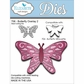 Elizabeth Craft Metal Die - Butterfly Overlay 2