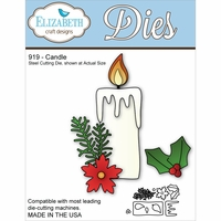 Elizabeth Craft Metal Die - Candle