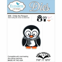 Elizabeth Craft Metal Die - Chilly The Penguin