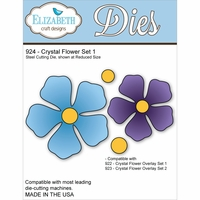 Elizabeth Craft Metal Die - Crystal Flower Set 1