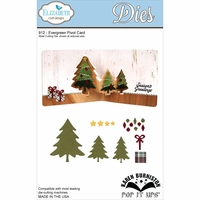 Elizabeth Craft Metal Die - Evergreen Pivot Card