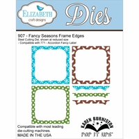 Elizabeth Craft Metal Die - Fancy Seasons Frame Edges