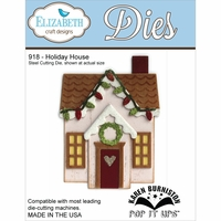Elizabeth Craft Metal Die - Holiday House
